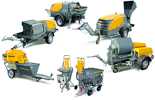 Putzmeister Floor Screed and mortar machines